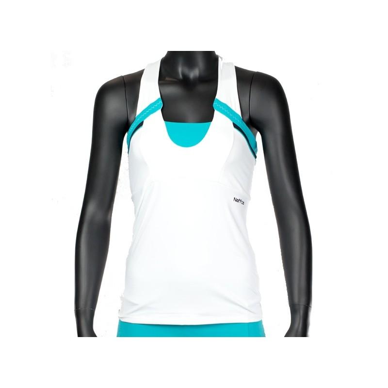 Camisetas Naffta Blanca y Turquesa CA535 2015