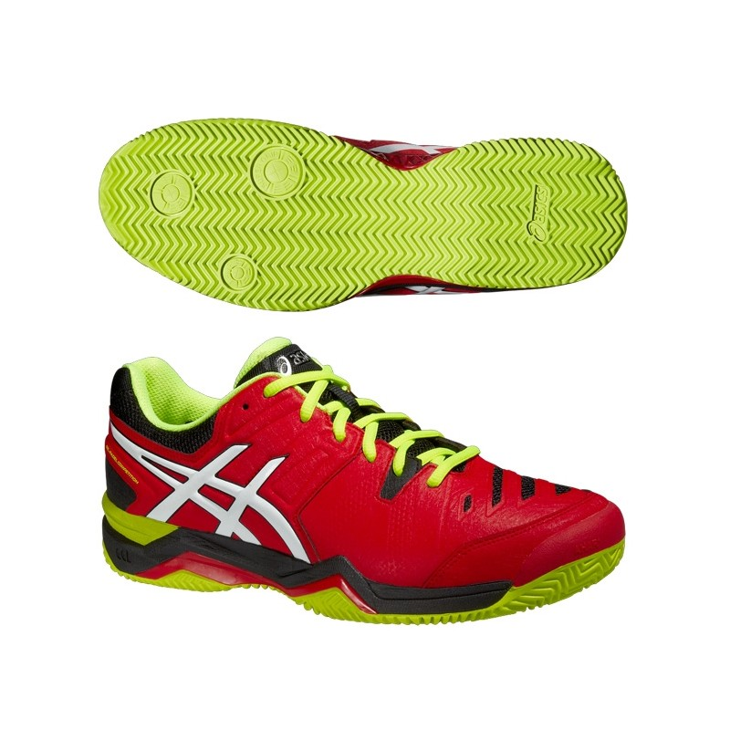Zapatillas Asics Gel Padel Competition 2 Rojas 2015