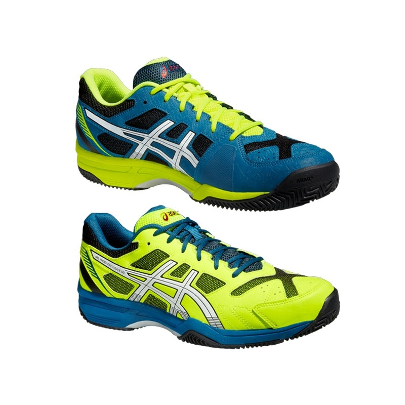 Zapatillas Asics Gel Padel Exclusive 4 Verdes 2015