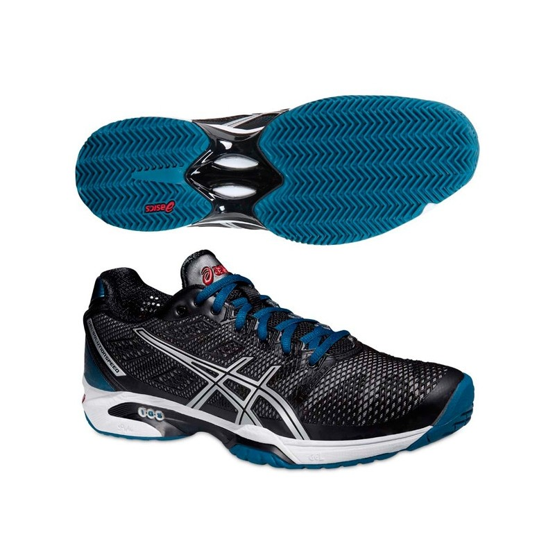 Zapatillas ASICS Gel Solution Speed 2 2015 Negras