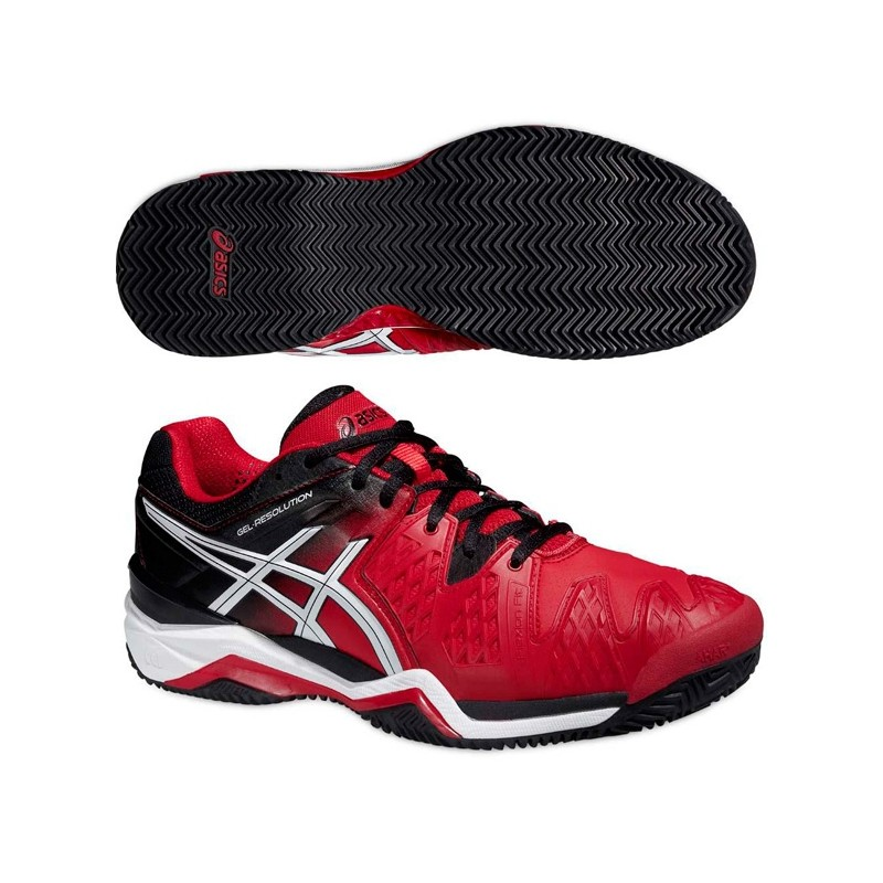 Zapatillas Asics Gel Resolution 6 Clay 2015 Red