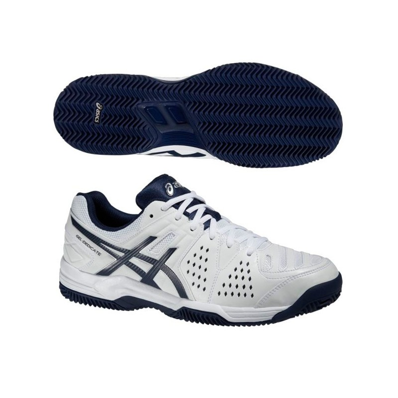 Zapatillas Asics Gel Dedicate 4 White / Navy 2015