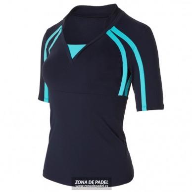 Camiseta tres cuartos Azul Marino CL634-283254