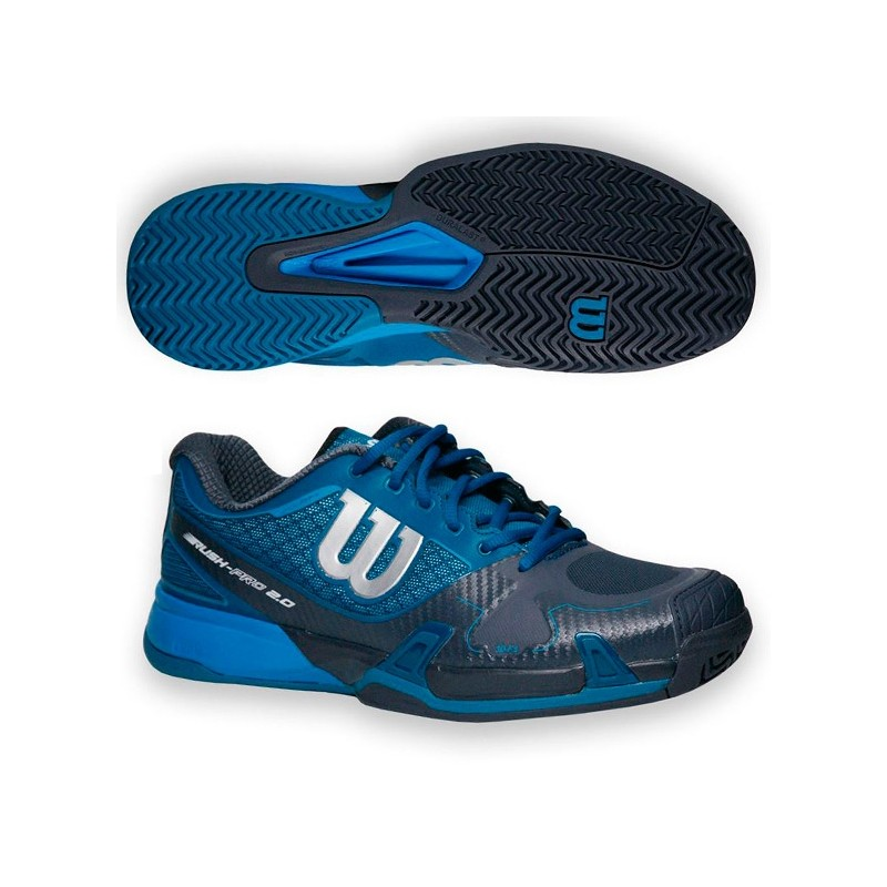 Zapatillas Wilson Rush Pro 2.0 Ultramarin Coal