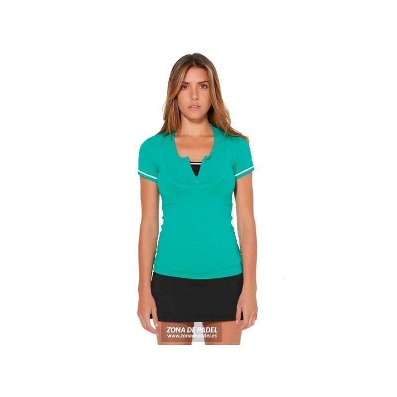 Falda Short Negra Verde FS633-100356