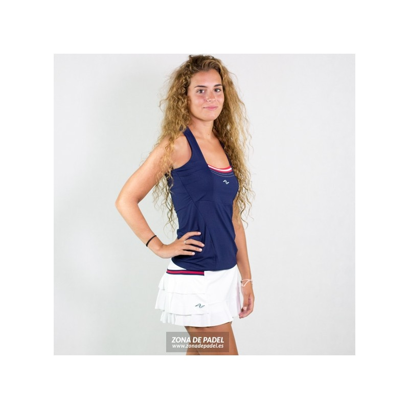 Falda Naffta Blanca F011-215TP-FS638-101283