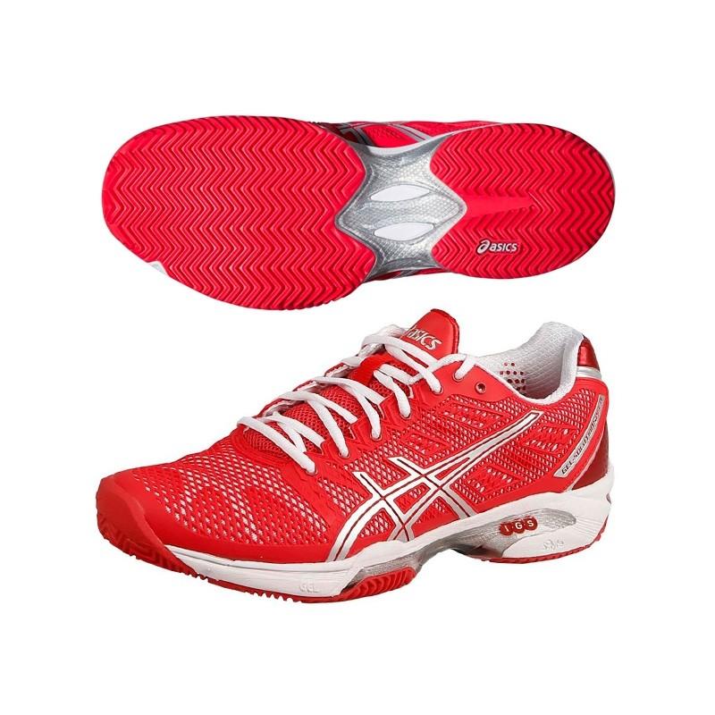 Zapatillas Asics Mujer Gel Solution Speed 2 2015 Rojas