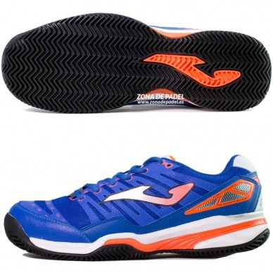 Zapatillas T.Slam Clay Royal Naranja 2015