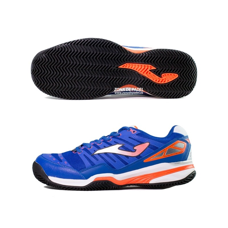 Zapatillas Joma T.Slam Clay Royal Naranja 2015