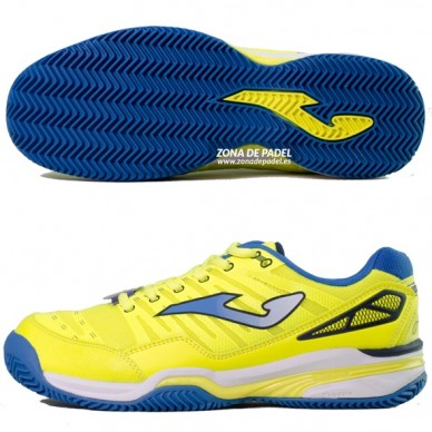 Zapatillas T.Slam Clay Limon Fluor 2015