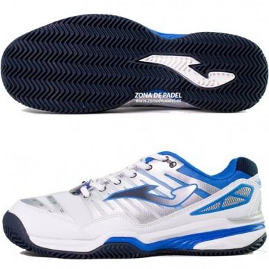 Zapatillas T.Slam Clay Blanco Royal 2015