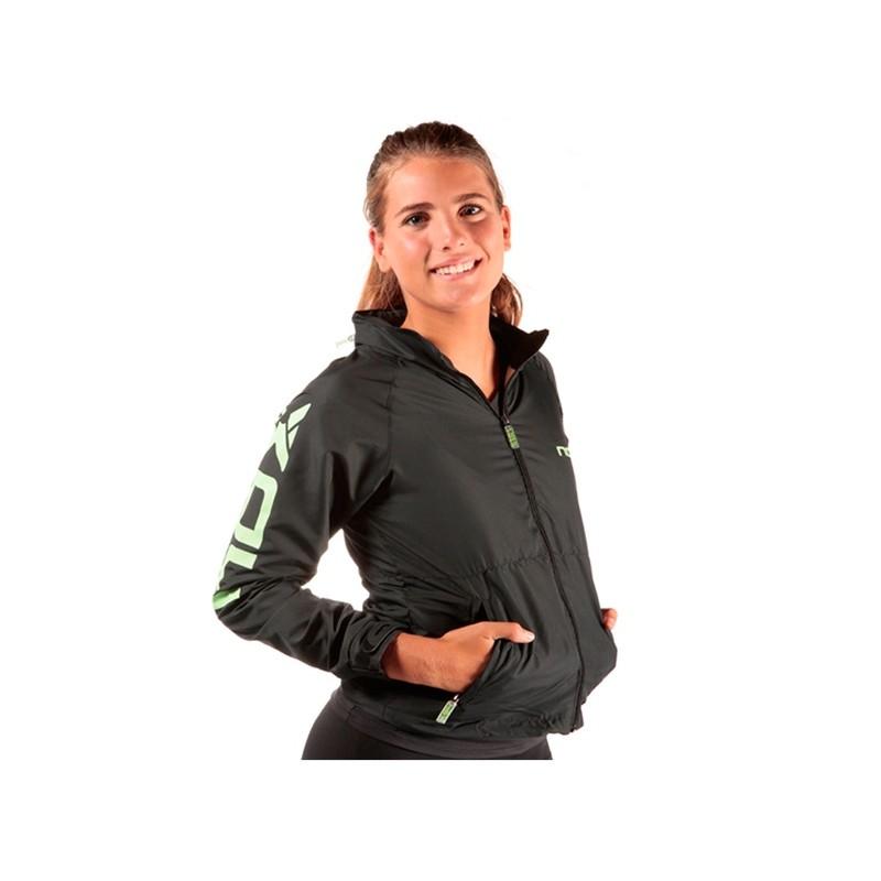 Cortavientos Nox mujer Leonor Negro 2015