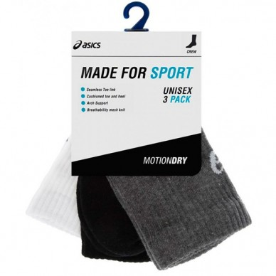 3PPK Crew Sock Assorted