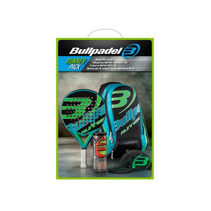Pack bullpadel Runner Pack 2015