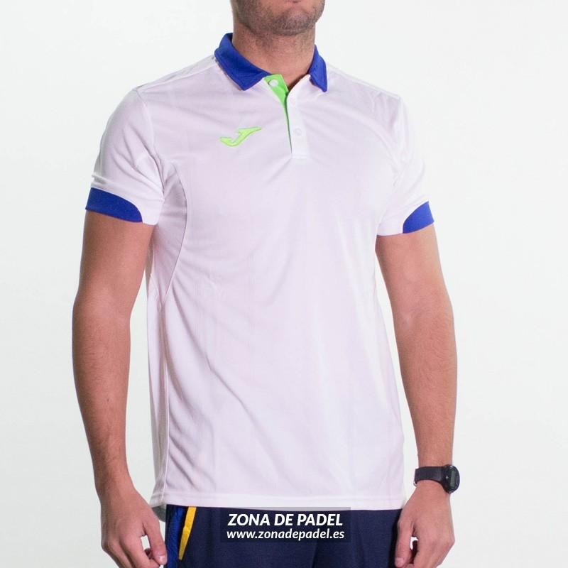 Polo Joma Master Blanco Azul 2016