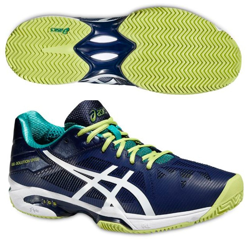 Zapatillas Asics Gel Solution Speed 3 2016 Azules