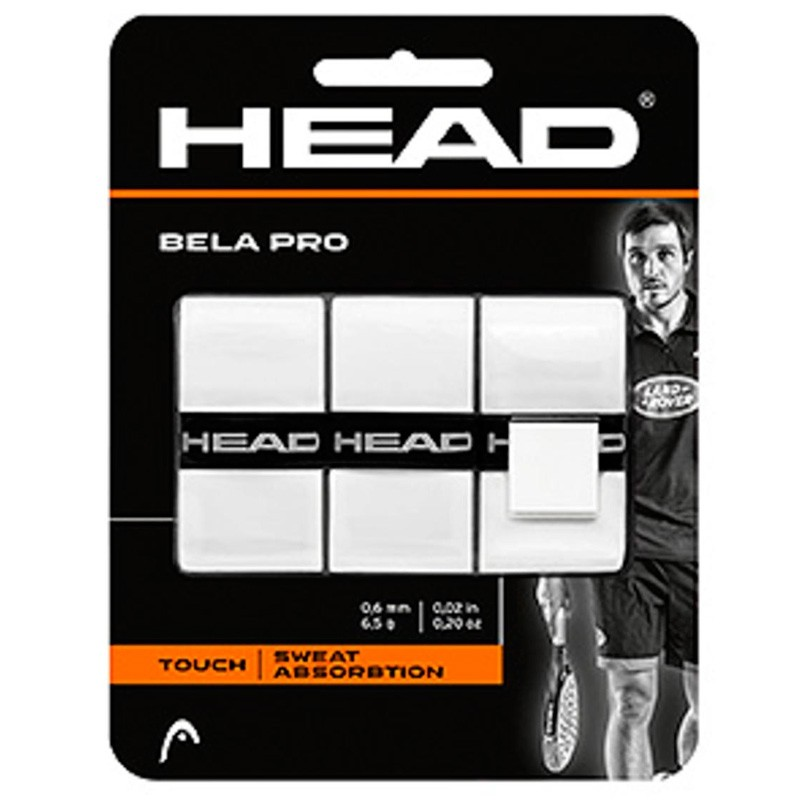 Overgrip Head Bela Pro Grip Blancos