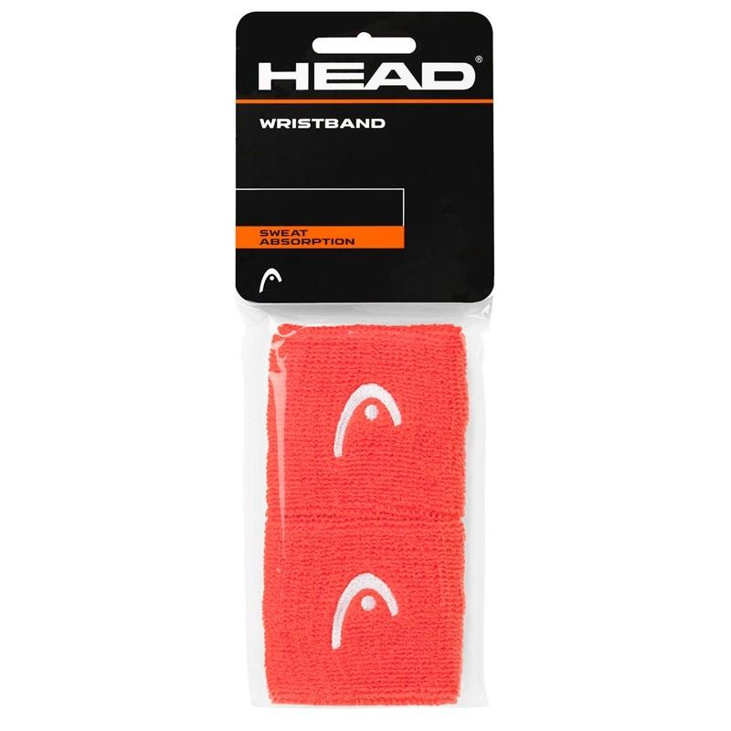 """Muñequera head 2.5"""" Wristband Coral"""