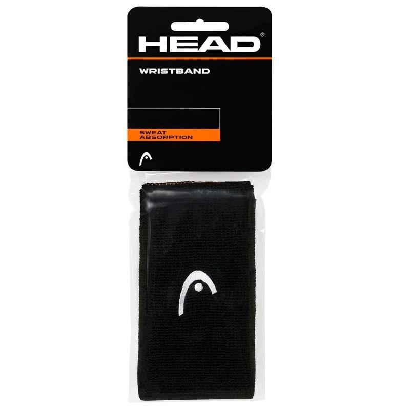 "Muñequera head 5"" Wristband Negra"