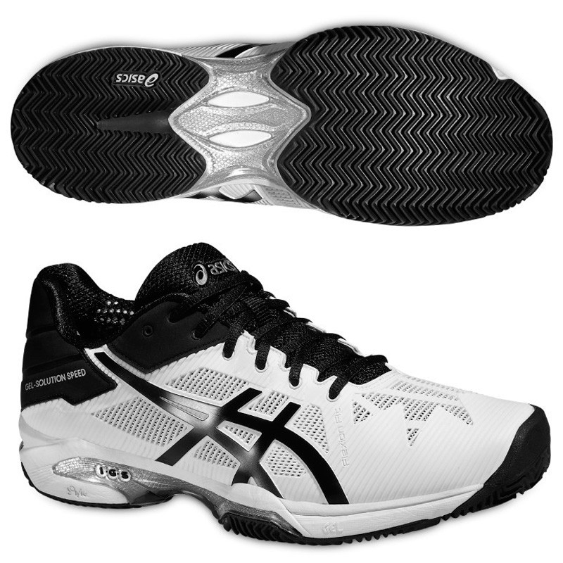Zapatillas Asics Gel Solution Speed 3 2016 Blancas
