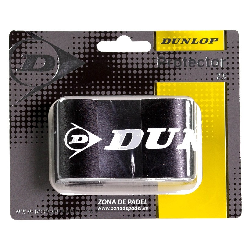 5 Protectores Dunlop Negros