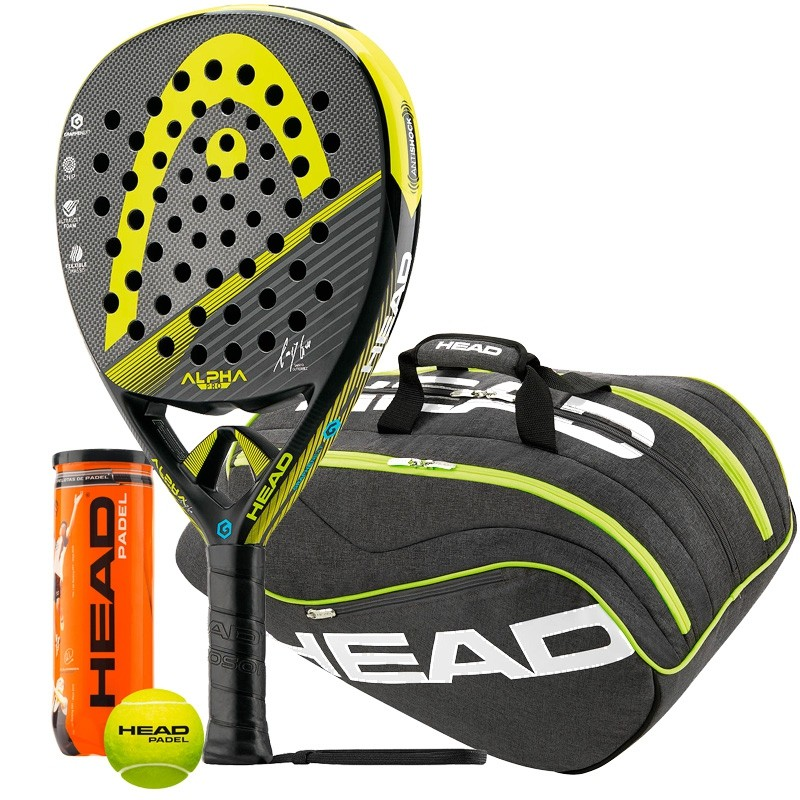 Pack head Alpha Pro + Paletero Ultimate Pro + Bolas