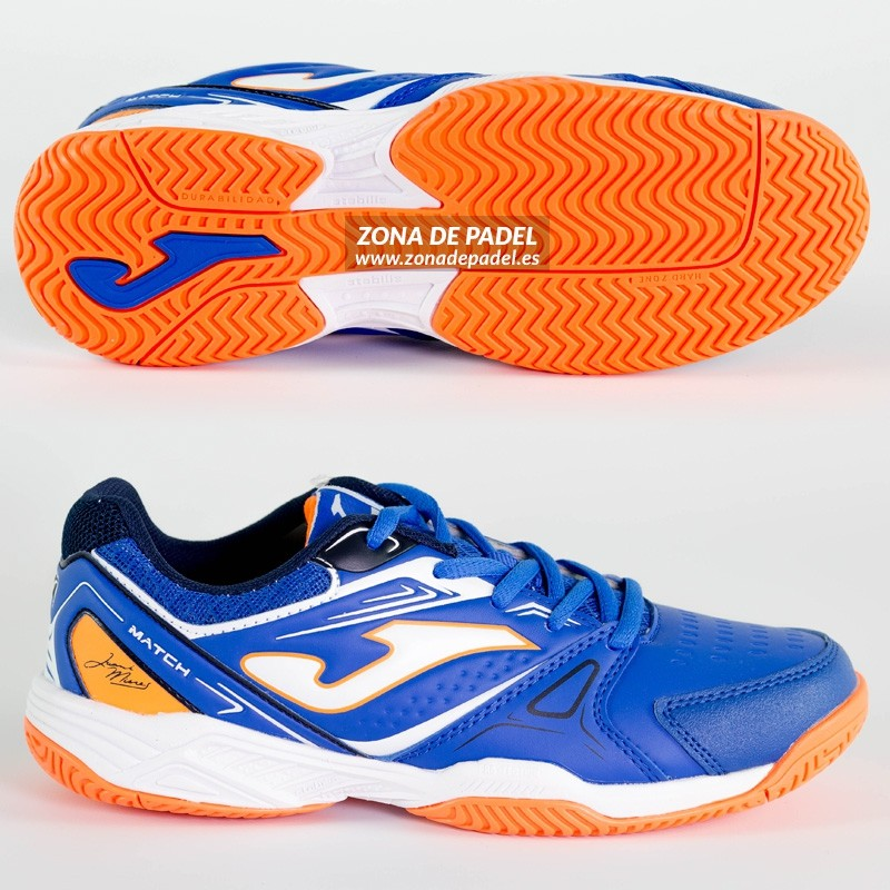 Zapatillas joma Junior T.Slam Royal Naranja 2016