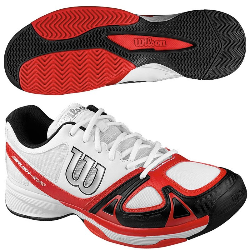 Zapatillas wilson Rush Evo  Red Black 2016