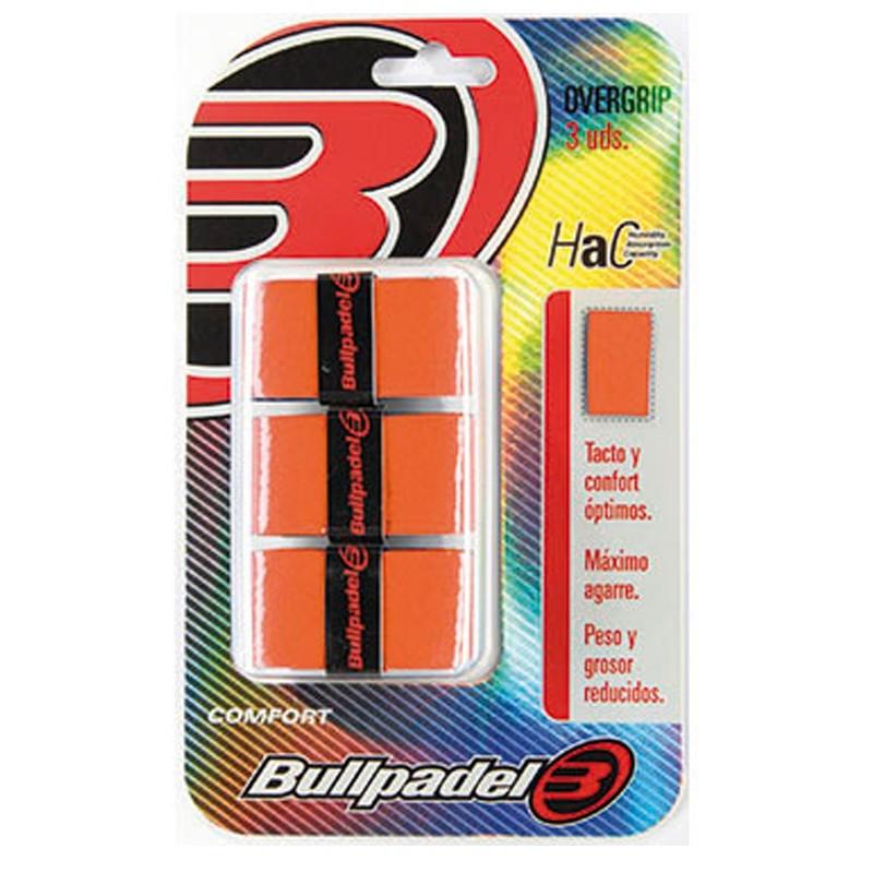 Overgrips bullpadel GB1200 Naranja fluor