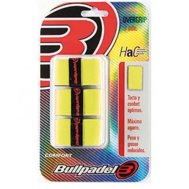 BullpadelOvergrips GB1200 Amarillo fluor