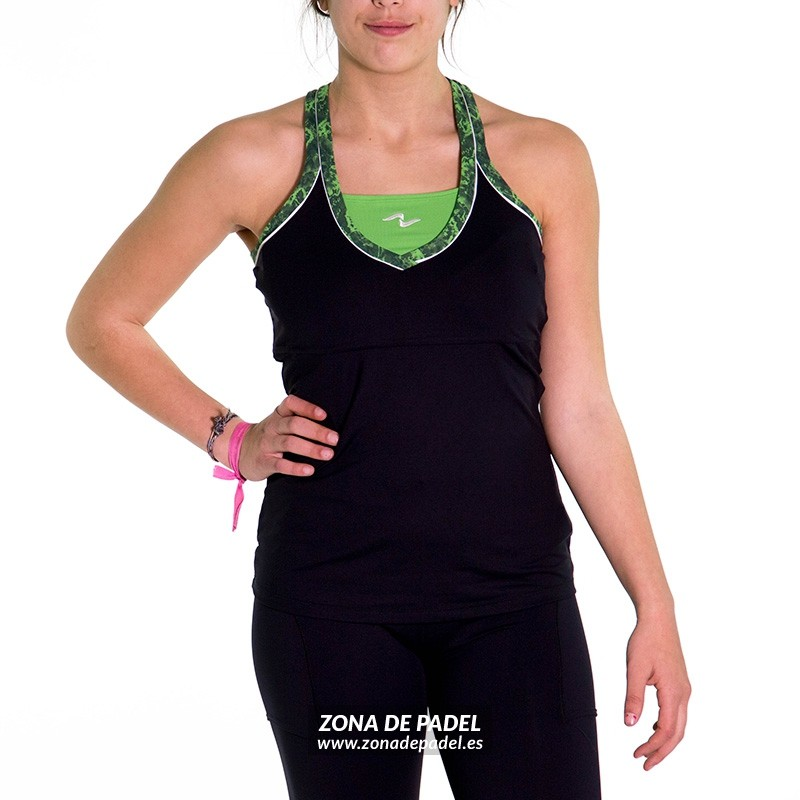 Camiseta Nafta Tirantes Negra CA739-100364