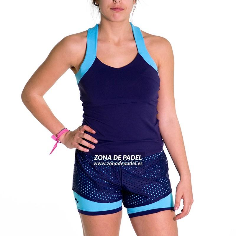 Camiseta Tirantes naffta azul CA730-283254
