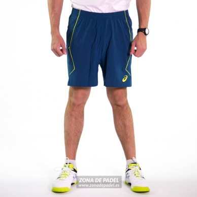 Padel Short Ink Blue / Neon Lime