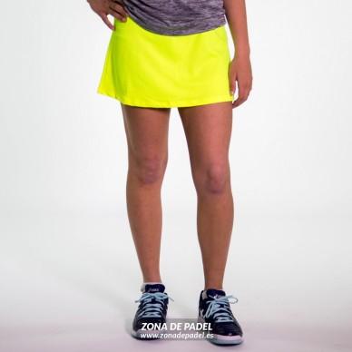 Falda Minimal Yellow Fluor 2016