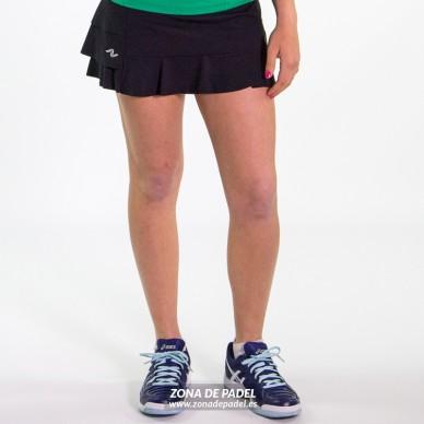 Falda Short Negra FS638-100356