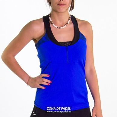 Camiseta Tirantes Azul Fluor CA737-285100 2016
