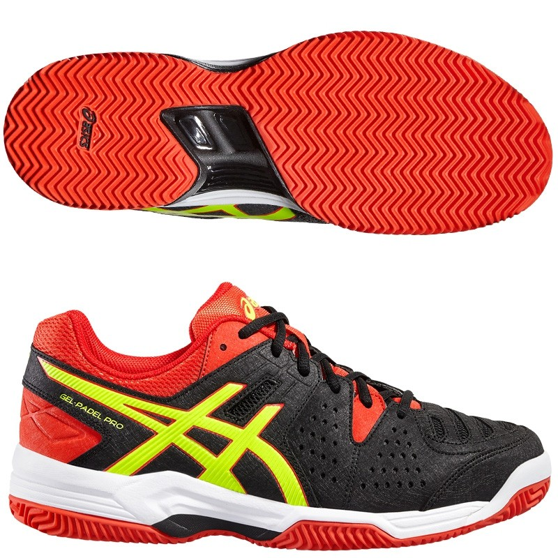 Zapatillas Asics Gel Padel Pro 3 SG Black / Yellow 2016