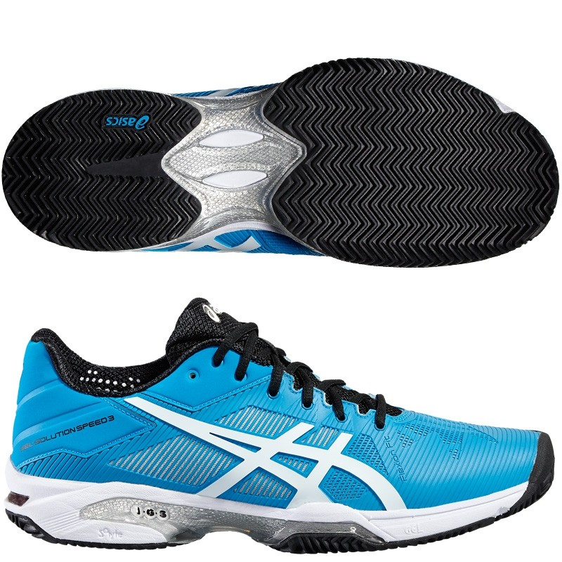 Zapatillas asics Gel Solution Speed 3 2016 Blue Jewel