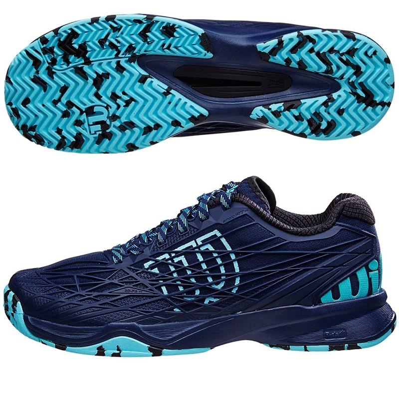 Zapatillas wilson Kaos Clay Court Azules Marino 2016