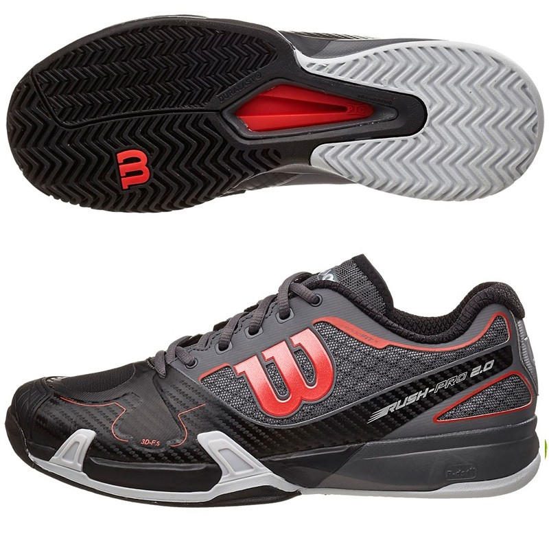 Zapatillas wilson Rush Pro 2.0 Black