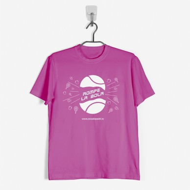Camiseta Técnica Padel Fucsia