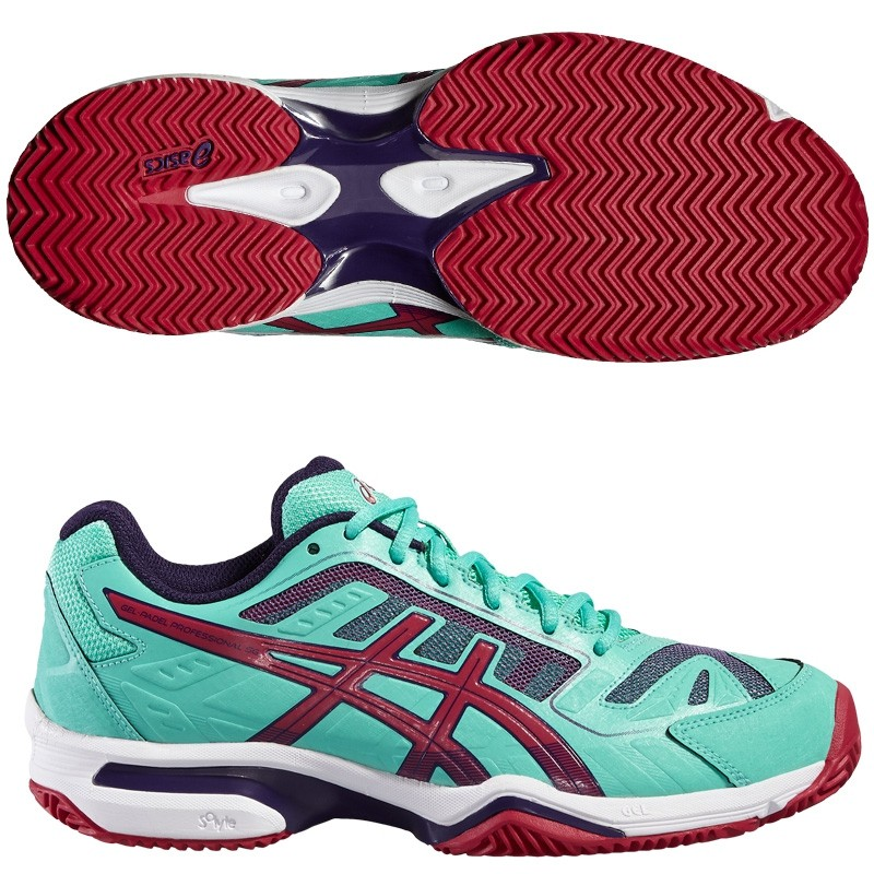 Zapatillas ASICS Gel Padel Professional 2 SG Woman Cockatoo 2016