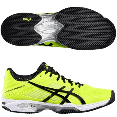 Zapatillas Gel Solution Speed 3 2016 Safety Yellow