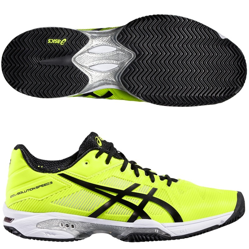 Zapatillas Asics Gel Solution Speed 3 2016 Safety Yellow