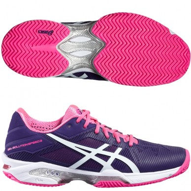 Zapatillas Gel Solution Speed 3 Woman 2016 Parachute
