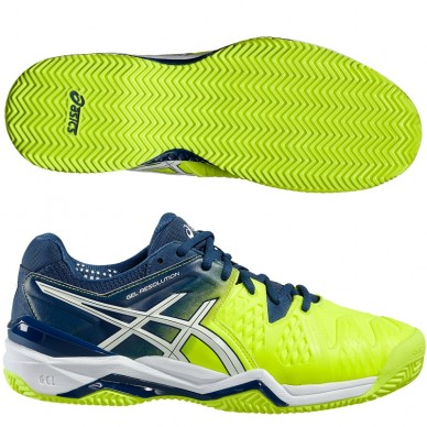 Zapatillas Gel Resolution 6 Safety Yellow 2016