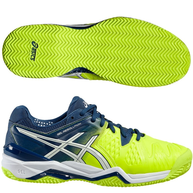 Zapatillas Asics Gel Resolution 6 Safety Yellow 2016