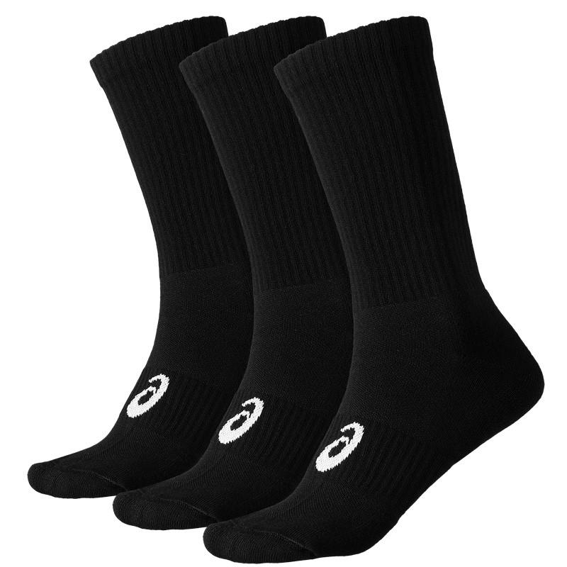 Pack 3 calcetines Asics Crew Sock Black