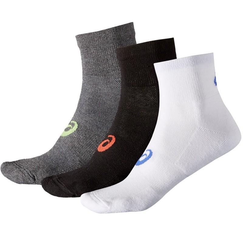 Pack 3 calcetines Asics Crew Quarter Sock