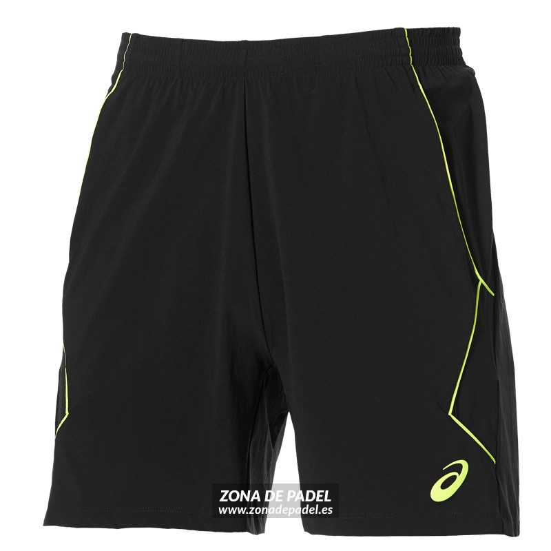 Asics Padel Short Performance Black Safety 2016